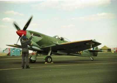 SAAF Spitfire Mk 9E Memorial Flight